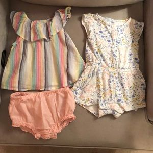 2️⃣ Old Navy Baby Girl Summer Outfits